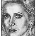 Catherine Deneuve in 1976 Poster by J McCombie