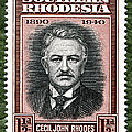 Cecil John Rhodes - 1.5d ED Poster by Outpost Imagery