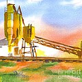 Cement Plant II Poster by Kip DeVore