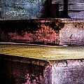 Cement Steps Number One Print by Bob Orsillo