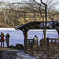 Central Park Photo Op 2 - NYC Print by Madeline Ellis