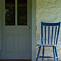 Chair on Farmhouse Porch Print by Olivier Le Queinec