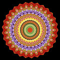 Chakra Spin Print by Barbie Wagner