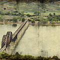 Chamberlain Railroad Bridge over Missouri River Poster by Jeff Swanson