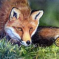 Chance Encounter Print by Patricia Pushaw