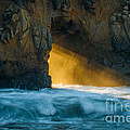 Chaos - Pfeiffer Beach Print by George Buxbaum