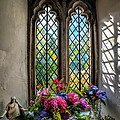 Chapel Flowers Poster by Adrian Evans
