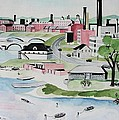 Charles River Poster by Sue Melanson