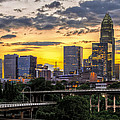 Charlotte Dusk Print by Chris Austin