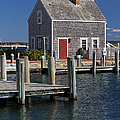 Charming Edgartown Harbor  Print by Juergen Roth