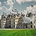 Chateau de Chenonceau Print by Diana Angstadt