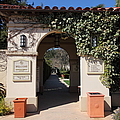 Chateau St. Jean Winery 5D22197 Print by Wingsdomain Art and Photography