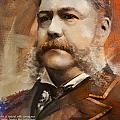 Chester A. Arthur Poster by Corporate Art Task Force