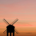 Chesterton Windmill Poster by Anne Gilbert