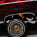 Chevrolet Caprice Lowrider - 5D20241 Poster by Wingsdomain Art and Photography