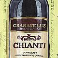 Chianti and Friends Panel 1 Poster by Debbie DeWitt