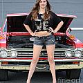 Chic Chevelle Print by Mark Spearman