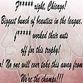 Chicago Blackhawks Crawford's Speech Poster by Dan Sproul