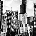 Chicago High Resolution Picture in Black and White Print by Paul Velgos