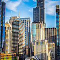 Chicago High Resolution Picture Print by Paul Velgos