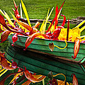 Chihuly Boat Print by Diana Powell