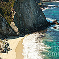 China Cove at Point Lobos State Beach Poster by Artist and Photographer Laura Wrede