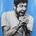 'Chino Moreno' Print by Christian Chapman Art