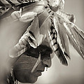 Chippewa Indian dancer Print by Dick Wood