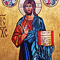 Christ the Pantocrator Poster by Ryszard Sleczka