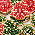 Christmas sugar cookies Print by Garry Gay