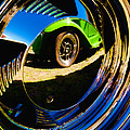 Chrome Hubcap Poster by Phil 'motography' Clark