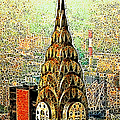 Chrysler Building New York City 20130503 Poster by Wingsdomain Art and Photography
