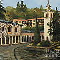 Church in Blagoevgrad Print by Kiril Stanchev
