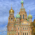 Church of the Saviour on Spilled Blood. St. Petersburg. Russia Print by Juli Scalzi
