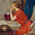 Circe Print by John William Waterhouse