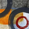 Circles 3 Print by Linda Woods
