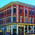 City - Hannibal Missouri - Mark Twain- Luther Fine Art Print by Luther   Fine Art