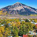 City of Crested Butte Colorado Panorama   Print by James BO  Insogna