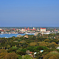 City of St Augustine Florida Print by Christine Till