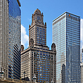 Classic Chicago -  The Jewelers Building Poster by Christine Till