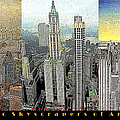 Classic Skyscrapers of America 20130428 Print by Wingsdomain Art and Photography