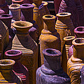 Clay Vases Poster by Garry Gay