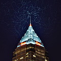 Cleveland Electrified Poster by Frozen in Time Fine Art Photography