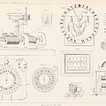 Clock mechanism, 19th century Print by Science Photo Library