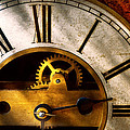 Clockmaker - What time is it Print by Mike Savad