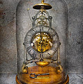 Clocksmith - The Time Capsule Print by Mike Savad
