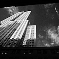 close in shot of the empire state building new york city Print by Joe Fox