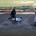 Close Play At The Plate  Print by Retro Images Archive