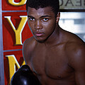 Close Up Of Muhammad Ali Print by Retro Images Archive