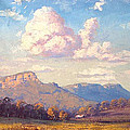 Clouds over Megalong Print by Graham Gercken